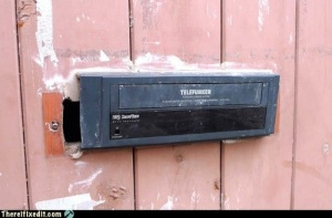 VCR Mail Slot